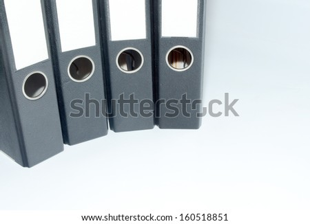 picture of document files in an office #160518851