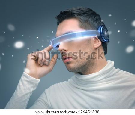 Futuristic Glasses Fashion With Futuristic Glasses