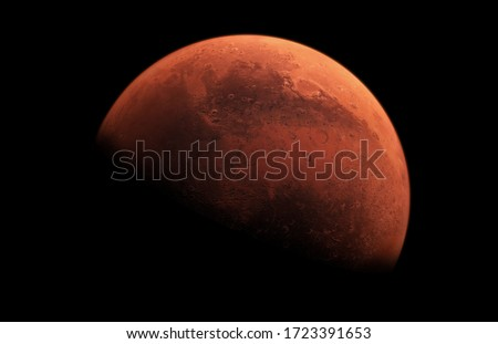 Picture of Mars the Red Planet Stock photo ©