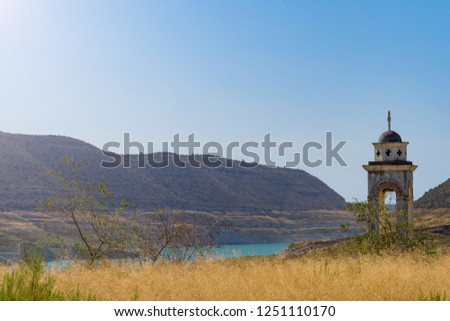 Picture of old abandoned church in Crete