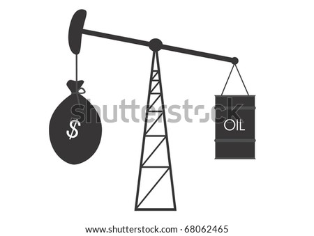 Picture reflecting change in price of oil on markets