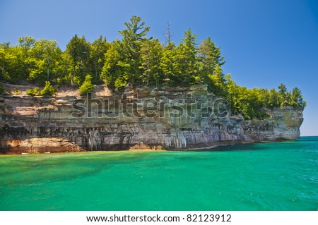 Pictured Rock National Lake Shore Michigan State