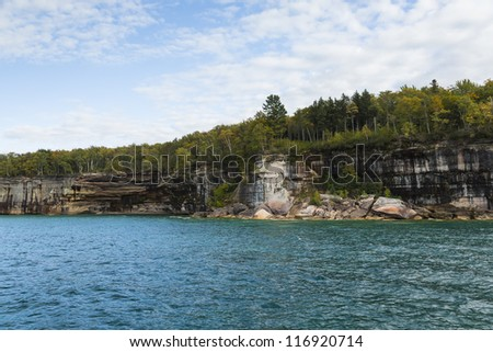 Pictured Rocks National Lake Shore Scenic