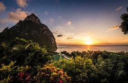 Pictures from around St Lucia and the Pitons