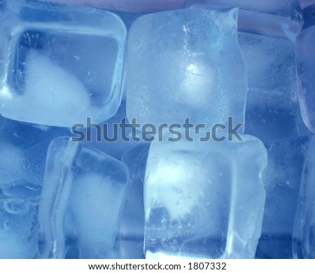 Pictures of ice cubes
