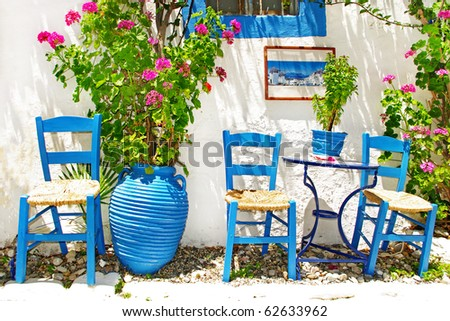 pictures of traditional Greece - stock photo