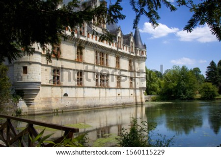 Picturesque chateau in the Loire Valley, France #1560115229