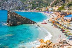 Picturesque coastal village of Monterosso al Mare, Cinque Terre, Italy.