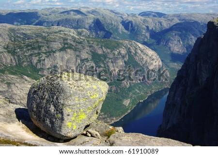 Picturesque Norway landscape.
