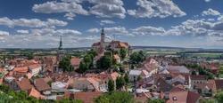 Picturesque South Moravian City Mikulov - Czech Republic