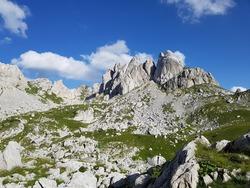 Picturesque summer mountain landscape of Durmitor National Park, Montenegro, Europe, Balkans Dinaric Alps, UNESCO World Heritage
