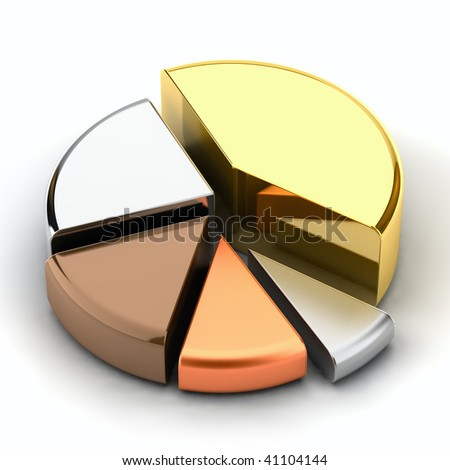 Health IS Heaven Stock-photo-pie-chart-made-of-different-metals-gold-silver-bronze-copper-lead-41104144