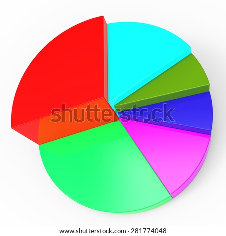 Pie Chart Meaning Business Graph And Data Ez Canvas