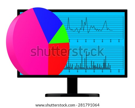 Pie Chart Online Meaning Business Graph And Analysis