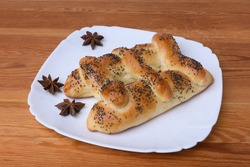 pie in the form of a ladder sprinkled with poppy seeds is baked in Christianity for the feast of the Ascension