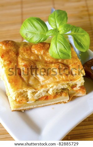 pie with salmon
