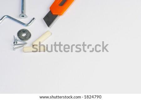 piece of hardware background