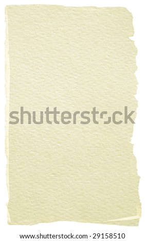 Piece of paper for background