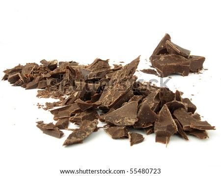 Pieces of chocolate