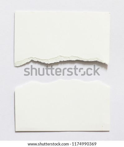 Pieces of paper texture background, copy space. #1174990369