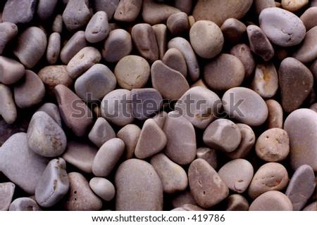 Piedras de la playa de Michigan de lago -- condado de lapuerta, Wisconsin - stock photo