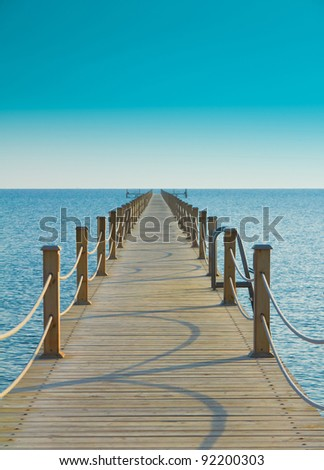 Pier and Nobody