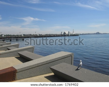 Pier at Geelong (Australia)