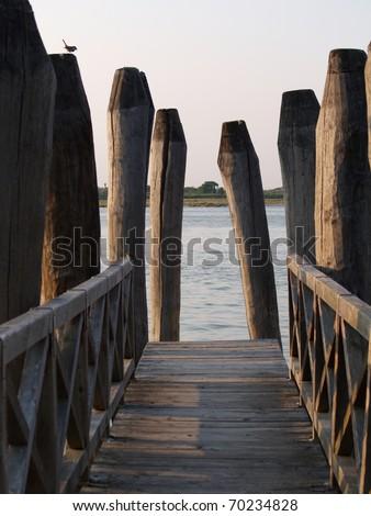 Pier at seaside