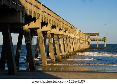Pier at Tybee Island, GA