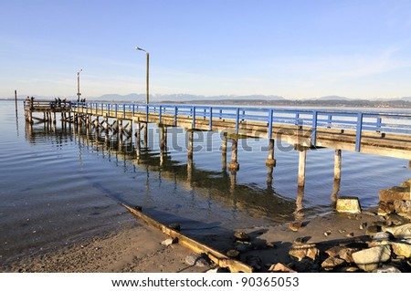 pier for fishing crabs