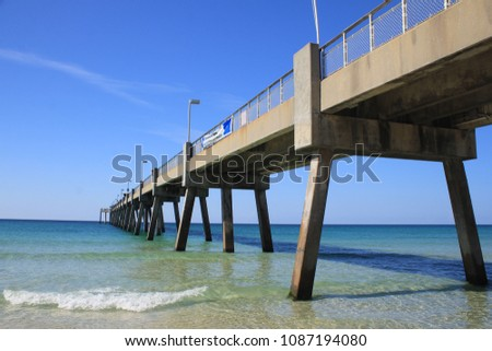 Pier in Destin, Florida #1087194080