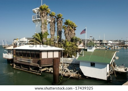 Pier 39 is a shopping center and popular tourist attraction built on a pier in San Francisco, California.