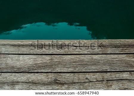 Pier. Lake pier pier #658947940
