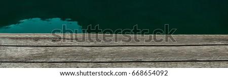 Pier. Lake pier pier #668654092