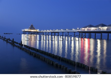 Pier on Heringsdorf, Germany