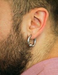 Piercing of an ear
