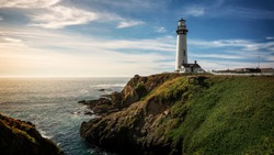 Pigeon Point Lighthouse in Pescadero