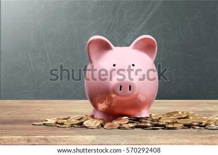 Piggy bank. #570292408