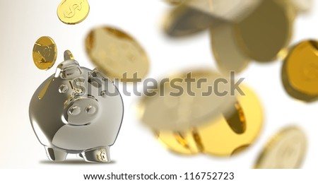piggy bank as concept