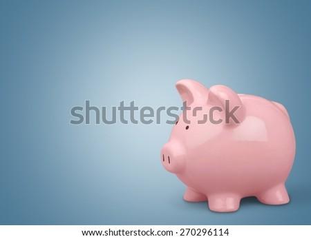 Piggy Bank, Pig, Savings.