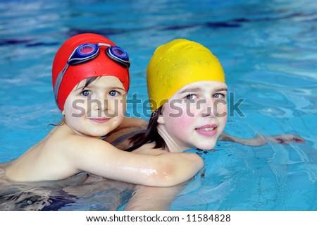 Piggyback swimming