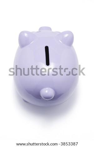 Piggybank on White Background