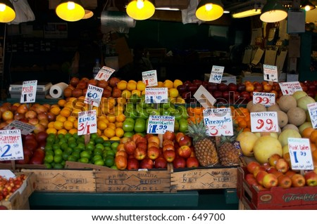 Pike Place Produce Stand