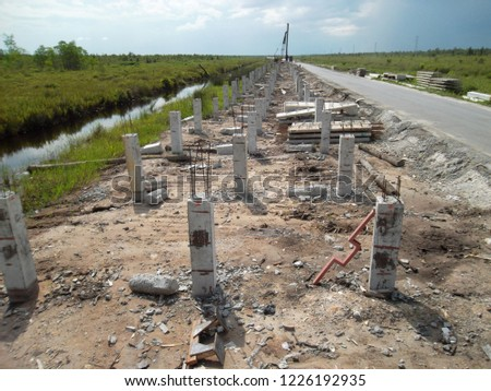 Pile Foundation in Pile Slab Project