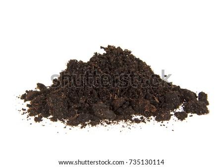 pile heap of soil humus...