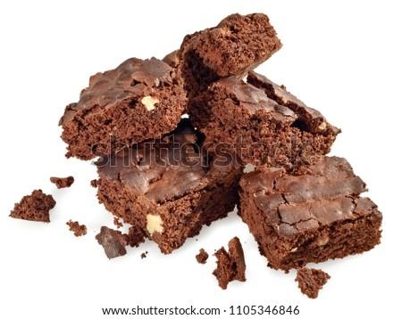 Pile of brownies #1105346846