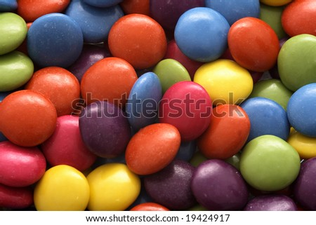 Pile of colorful candy