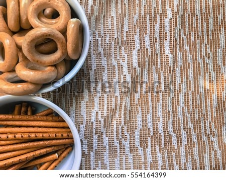 Pile Of Different Snacks For Breakfast Wallpaper Food A Morning Background Mixed Bakery