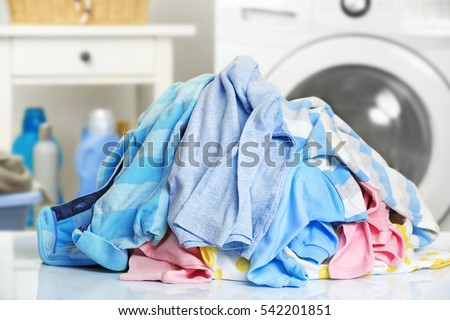 Pile of dirty laundry