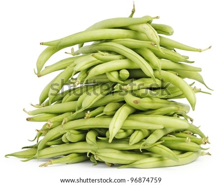 Pile of green beans